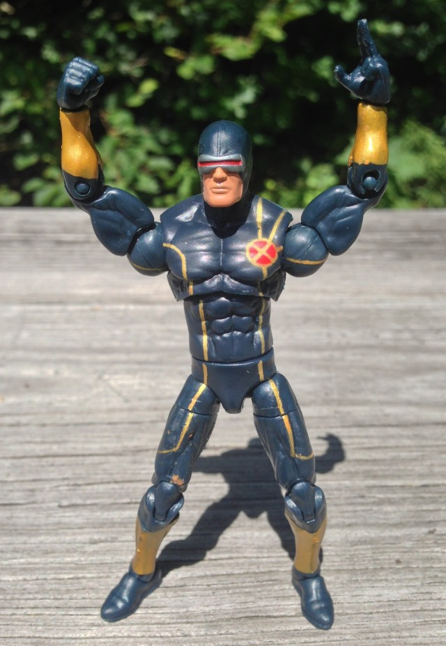 Hasbro 2014 Marvel Infinite Series Cyclops Astonishing X-Men Figure
