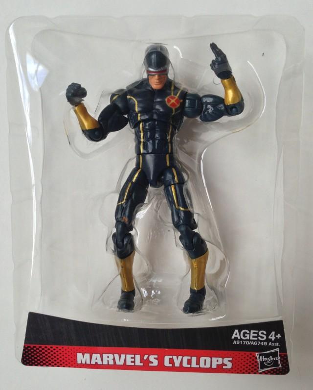 Marvel Universe Astonishing X-Men Cyclops Figure in Packaging