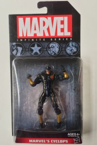 Marvel Universe Infinite Series 2014 Cyclops Figure Packaged
