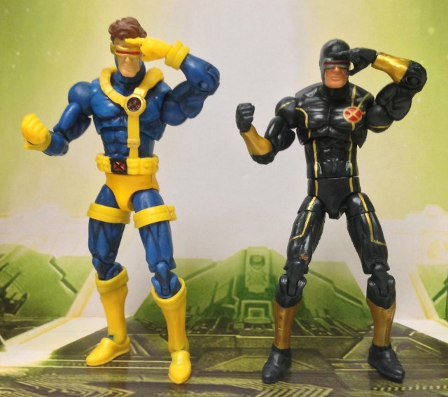 "Marvel Universe Jim Lee Cyclops vs. Astonishing Cyclops 4"" Figures"