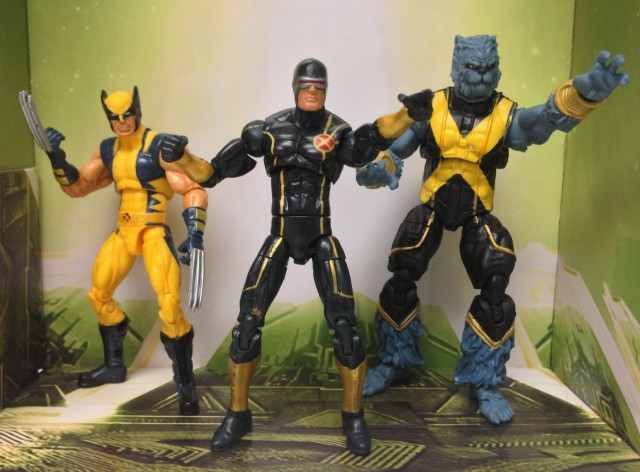 Hasbro Marvel Universe Astonishing X-Men Beast Wolverine Cyclops Figures