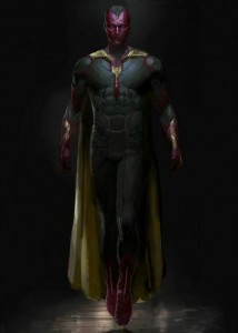 Avengers Age of Ultron Vision Movie Concept Art