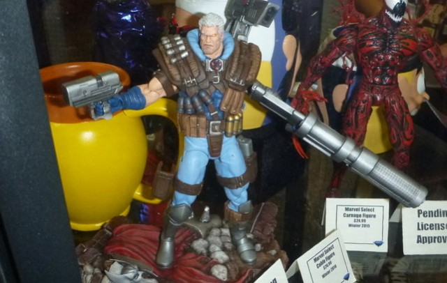 Cable Marvel Select 2015 Figure Carnage