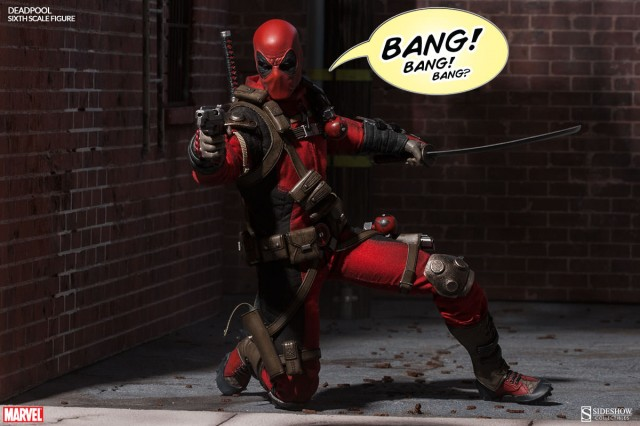 Deadpool Figure Sideshow Collectibles 2015