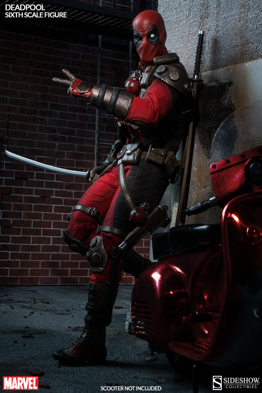 Deadpool Sixth Scale Figure Sideshow Collectibles