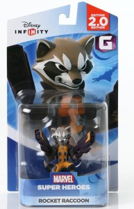 Disney Infinity Rocket Raccoon Figure Packaged