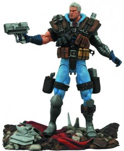 Marvel Select Cable Figure February 2015 Diamond Select Toys
