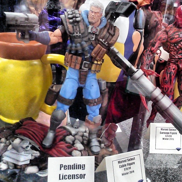 Marvel Select Cable Figure Winter 2014 SDCC