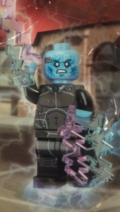 Amazing Spider-Man 2 Electro LEGO Minifigure Polybag 5002125 Promo Close-Up