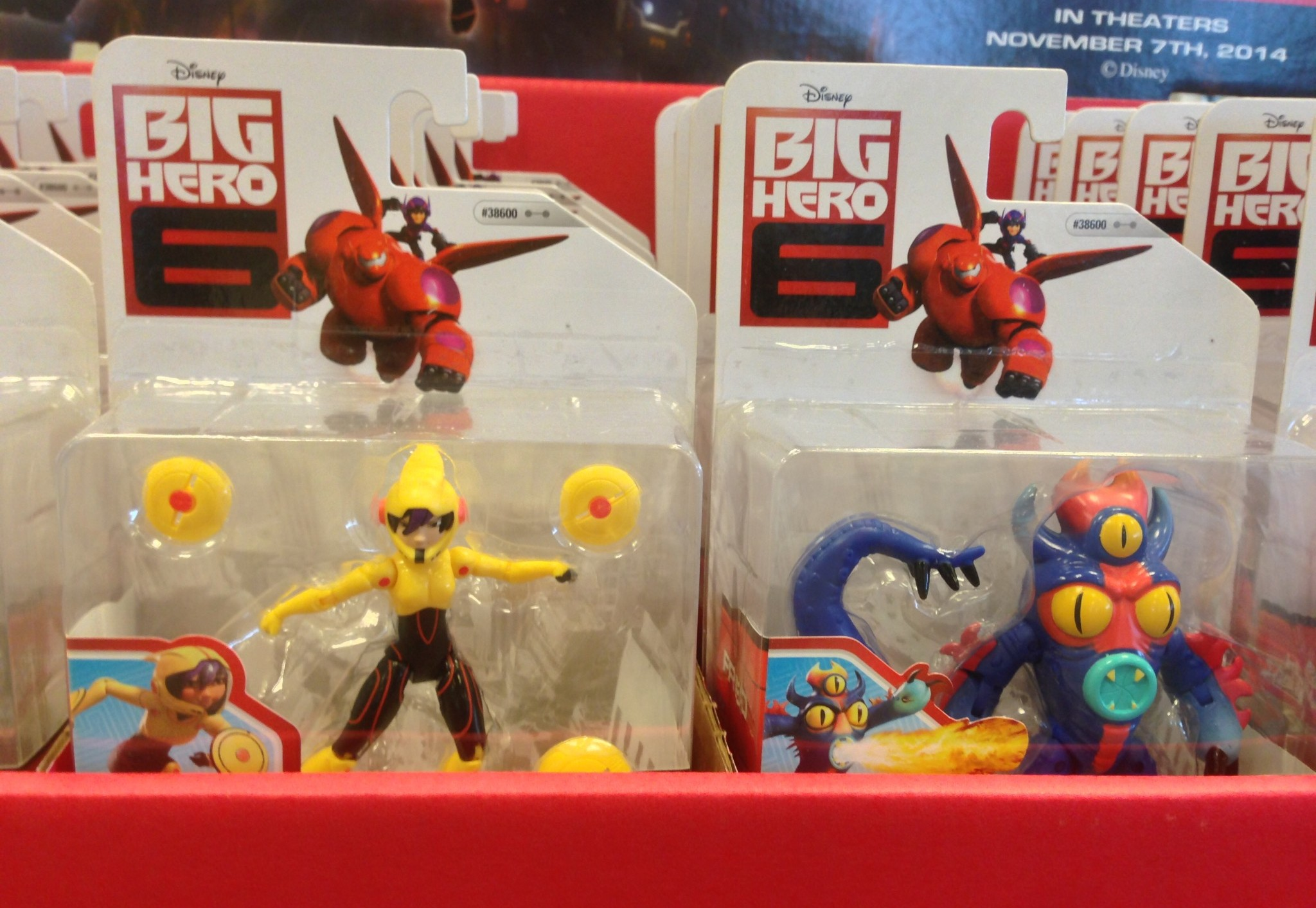 Toys For 6 : Big hero movie figures and toys released photos