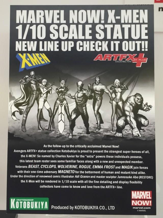 Kotobukiya X-Men ArtFX+ Statues Announcement