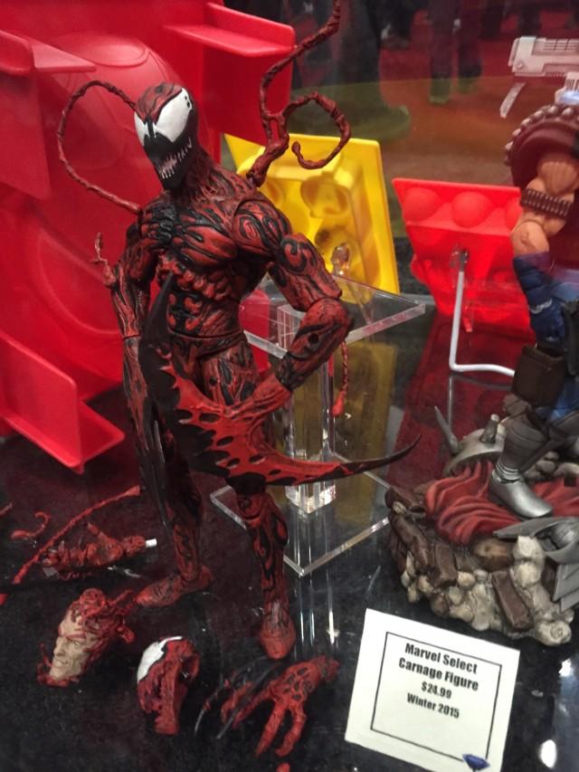 Diamond Select Toys Carnage Marvel Select Figure NYCC 2014