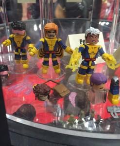 Marvel Minimates Wave 60 Banshee Jubilee Storm Gambit Figures