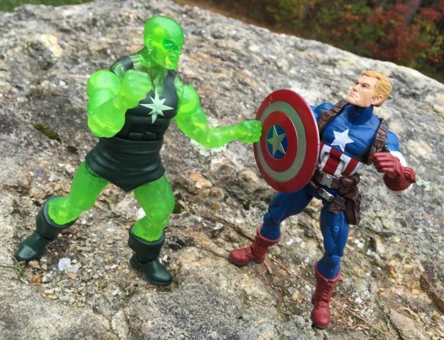 Marvel Legends Radioactive Man vs. Captain America Figures