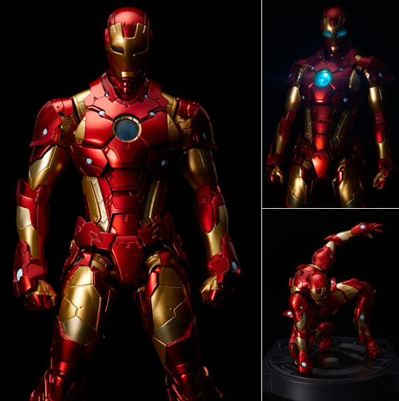 Sentinel Armorize Iron Man Figure Photos & Pre-Order ...