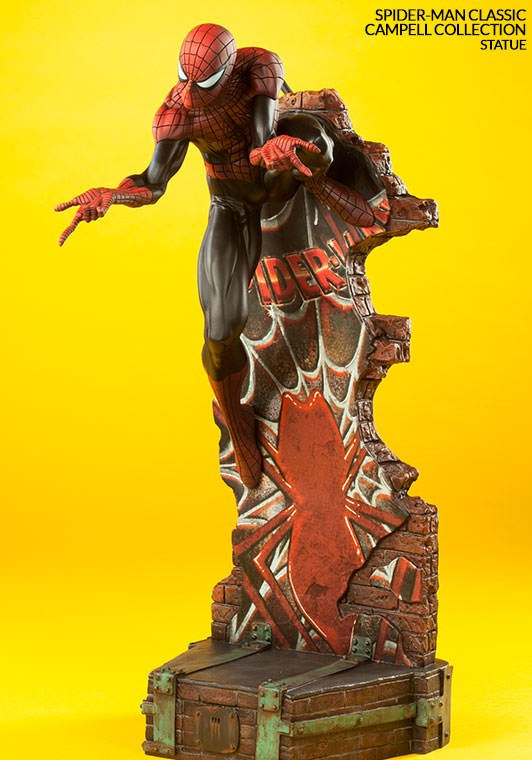 Sideshow Collectibles Classic Spider-Man Statue Base