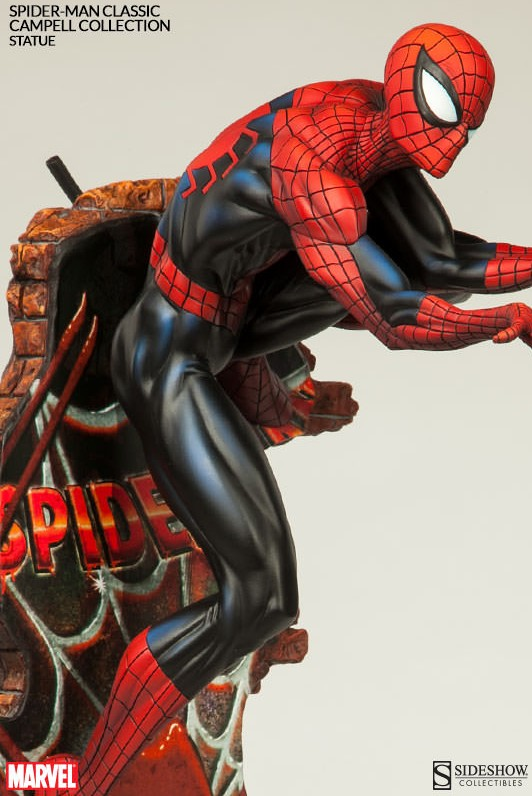 Spider-Man Classic Statue Sideshow Collectibles May 2015