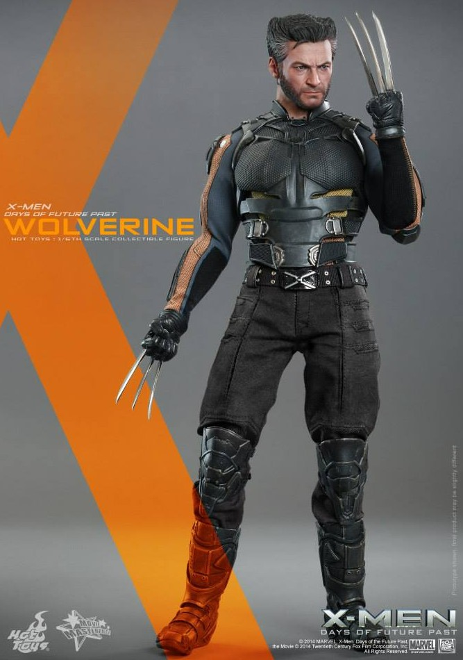 X Men Days Of Future Past Action Figures Hot Toys Days of Futur...