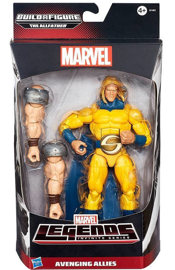 Avengers Marvel Legends Sentry Figure Avenging Allies