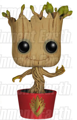 Entertainment Earth Exclusive Ravagers Dancing Groot POP Vinyl Figure