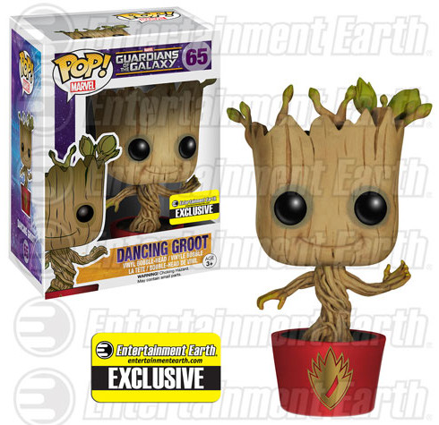 Funko Ravagers Dancing Groot POP Vinyls Exclusive Figure