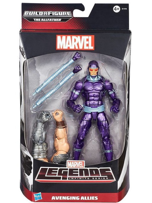 Marvel Legends Avengers Machine Man Figure Packaged Avenging Allies