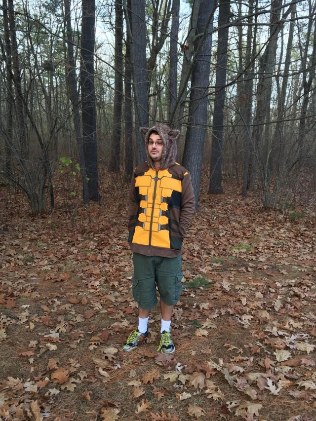 Rocket Raccoon Hoodie Review We Love Fine Costume