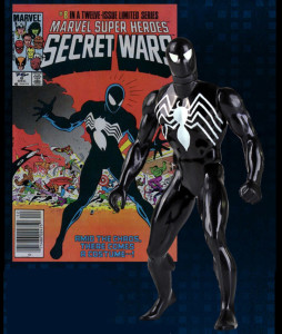 Secret Wars Jumbo Black Costume Spider-Man Figure 2015