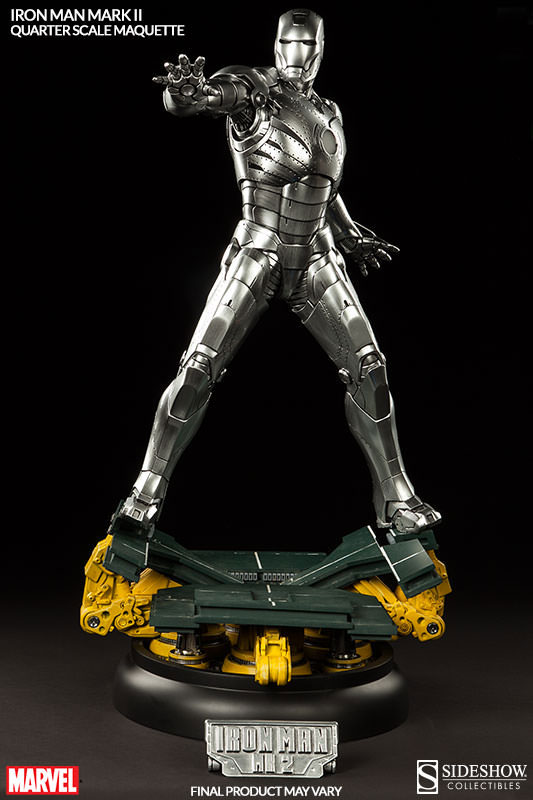 Sideshow Collectibles Iron Man Mark II Maquette Nameplate