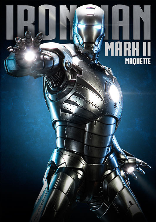 Sideshow Iron Man Mark II Maquette Statue