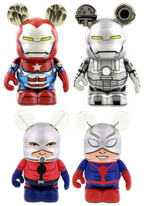 Vinylmation Marvel Ant-Man Iron Patriot War Machine LE Figures