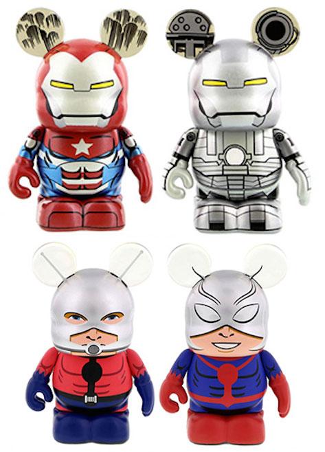 Vinylmation Marvel Ant-Man Iron Patriot War Machine LE Figures