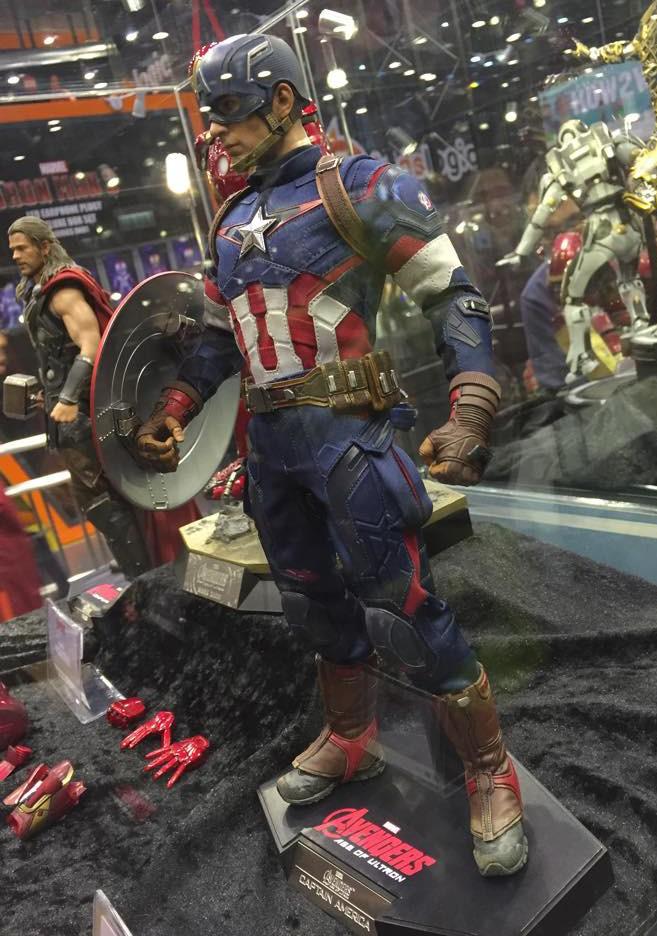 Captain America Avengers 2 Figure Avengers 2 Hot Toys Captain