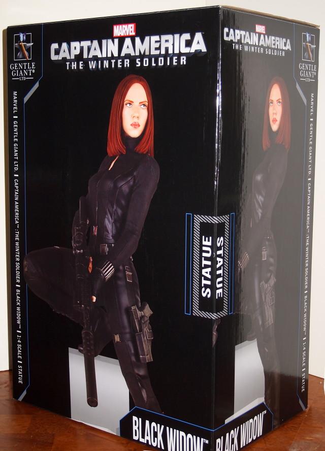 Black Widow Gentle Giant Statue Box