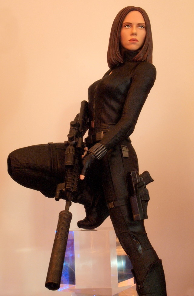 Black Widow Quarter Scale Statue Captain America The Winter Soldier