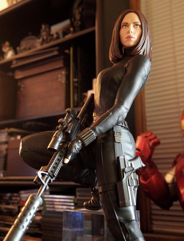 Captain America Winter Soldier Movie Black Widow Statue by Gentle Giant Ltd