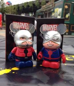 Disney Vinylmation Ant-Man Variant and Regular Figures