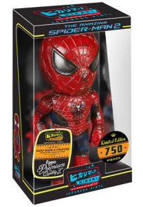 Distressed Spider-Man Funko Hikari Figure Packaged