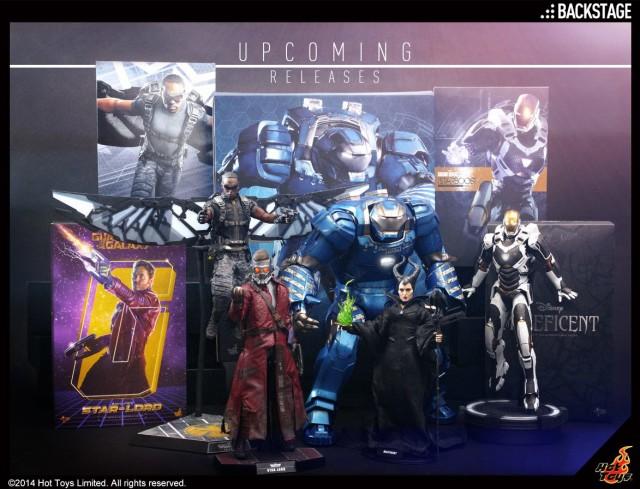Hot Toys 2015 Shipping Soon Figures Igor Iron Man Star-Lord Falcon