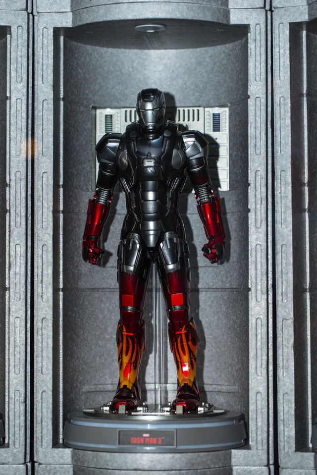 Hot Toys Hot Rod Iron Man Sixth Scale Figure Die Cast