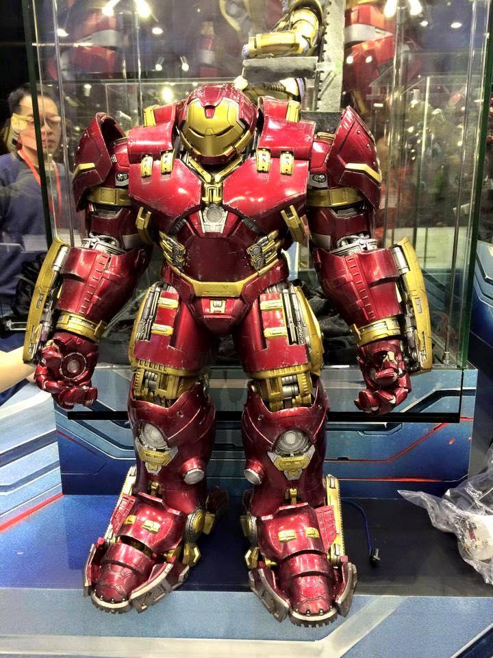Les figurines Hulkbuster Iron Man et Hulk de Kotobukiya