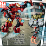 LEGO Hulkbuster Rescue Mission 76031 Set Photos Preview!