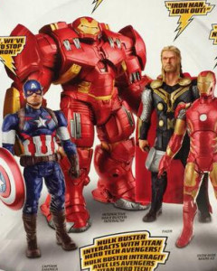 Avengers Age of Ultron Titan Hero Tech Figures