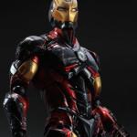 Marvel Play Arts Kai Iron Man Variant Photos & Order Info!