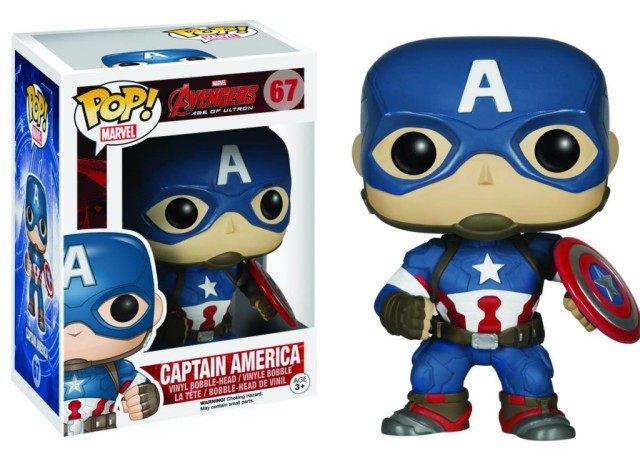 Funko Age of Ultron Captain America POP Vinyls Figure