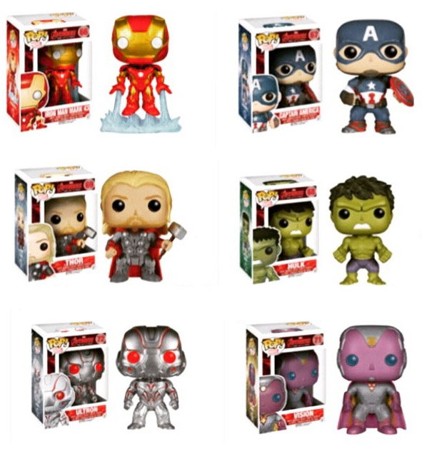 Funko Avengers Age of Ultron POP Vinyls Figures