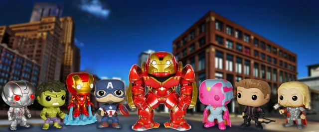 Funko POP Vinyls Avengers Age of Ultron Figures Complete Set Lineup