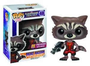 Funko Ravagers Rocket Raccoon POP Vinyls Exclusive Variant Figure