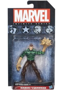 Hasbro Marvel Universe 2015 Sandman Figure Packaged