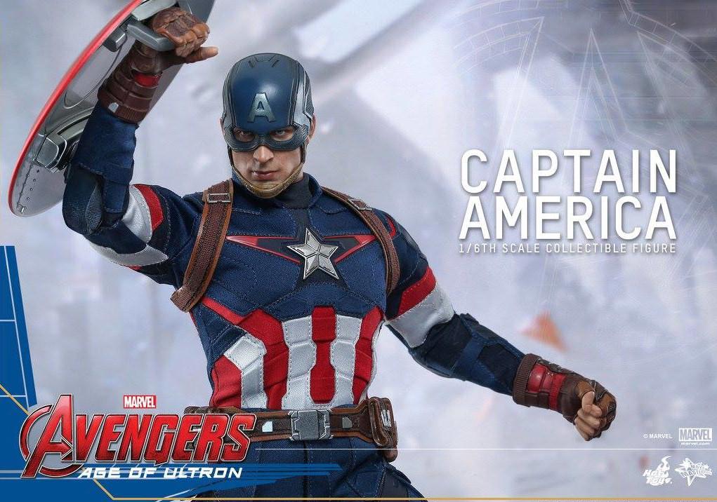 Captain America Avengers 2 Figure Hot Toys Avengers 2 Captain